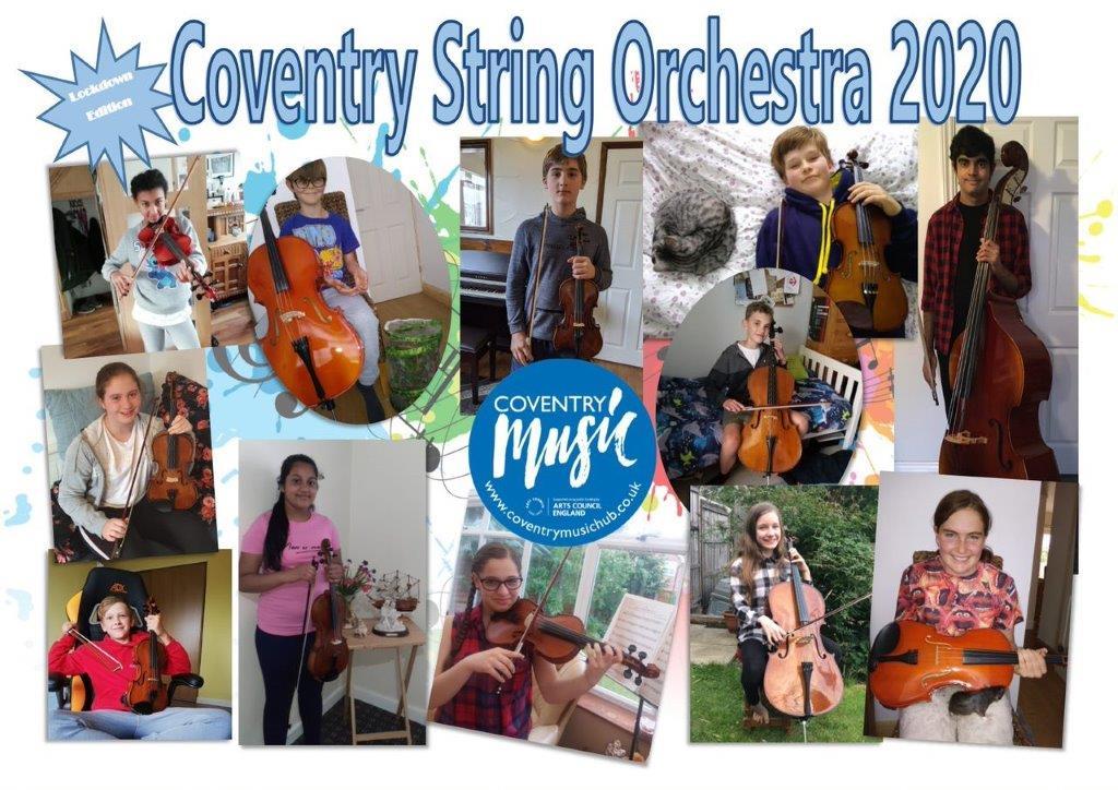 string orchestra lockdown photo